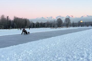 zima na alasce