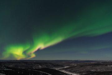 atrakcje fairbanks - zorza polarna
