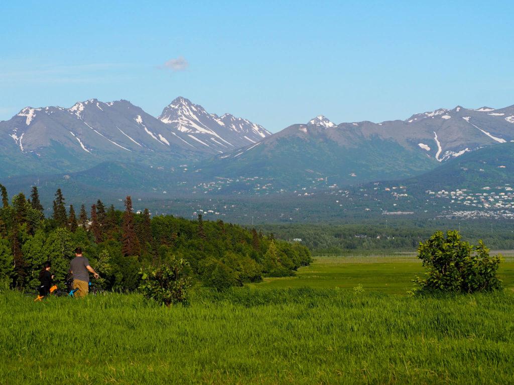 Widok na okolice Homer na Alasce - Wycieczka Alaska