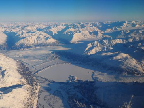 Przelot nad Alaską